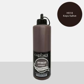 Hybrit (Multi Surface) Boya Koyu Kahve 500 ml HH-18