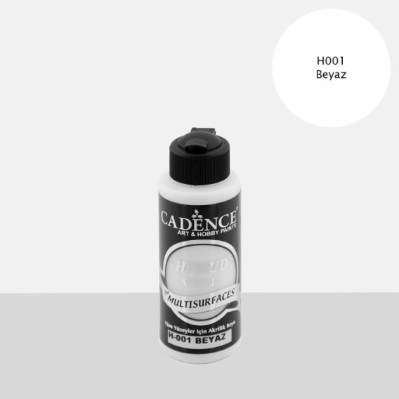 Hybrit (Multi Surface) Boya Beyaz 120 ml - H-001