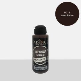 Hybrit (Multi Surface) Boya Koyu Kahve 120 ml - H-018