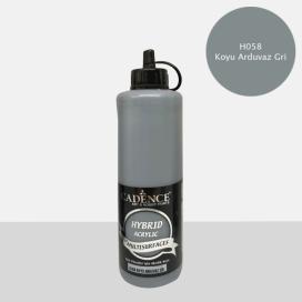Hybrit (Multi Surface) Boya Koyu Arduvaz Gri 500 ml - HH-58