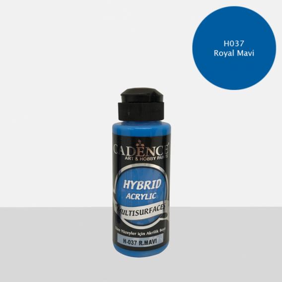 Hybrit (Multi Surface) Boya R.Mavi  120 ml - H-037