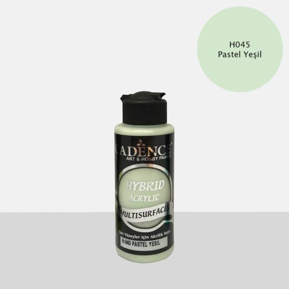 Hybrit (Multi Surface) Boya Pastel Yeşil 120 ml-H-045