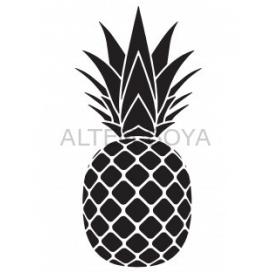 Ananas Stencıl 10*15 cm S-999