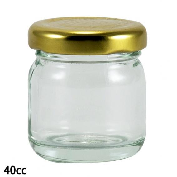 CAM KAVANOZ 40 CC