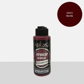 Hybrit (Multi Surface) Boya Bordo 120 ml - H-055