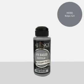 Hybrit (Multi Surface) Boya Koyu Gri 120 ml H-090