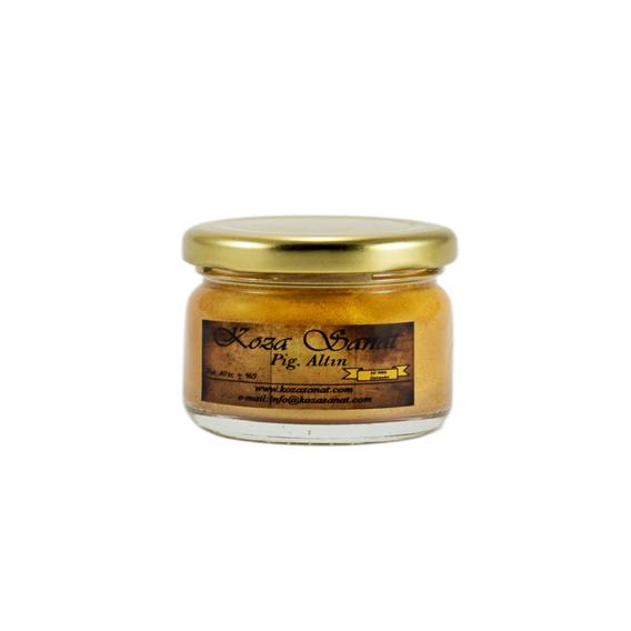 Ezilmiş Boya Pigment Altın 40 cc KG-07
