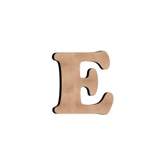 E Harf 6 Cm Eminönü Hobi Sanat