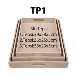 MDF TP1-3'LÜ TEPSİ