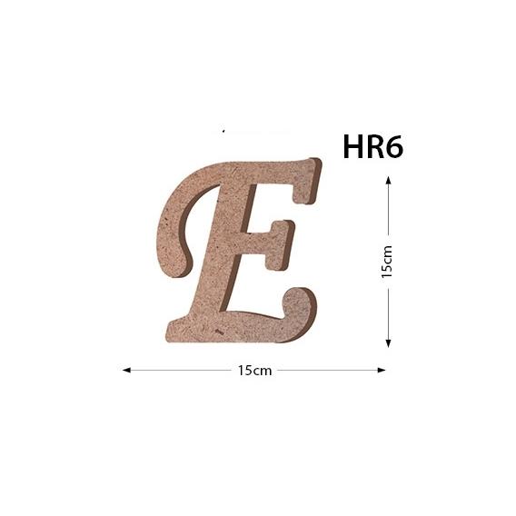 MASAÜSTÜ E HARF HR-6