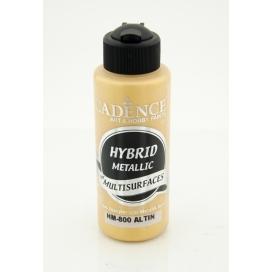 Hybrit (Multi Surface) Metalik Boya Altın 120 ml - HM-800