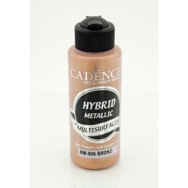 Hybrit (Multi Surface) Metalik Boya Bronz 120 ml - HM-806
