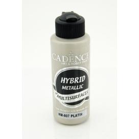 Hybrit (Multi Surface) Metalik Boya Platin 120 ml - HM-807