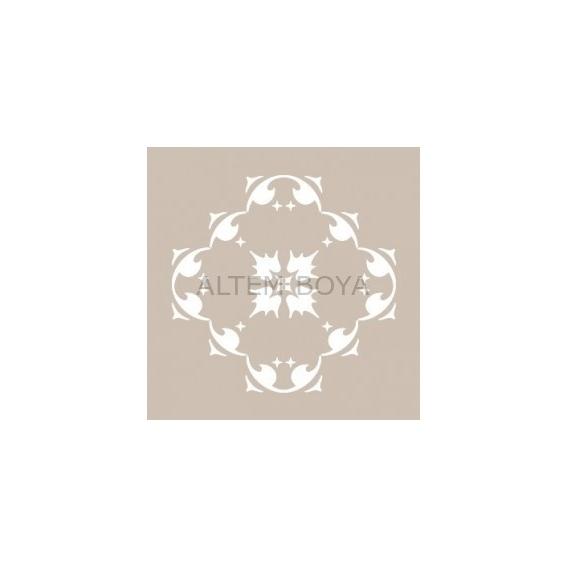 Kare Stencıl KA01 22*22 cm
