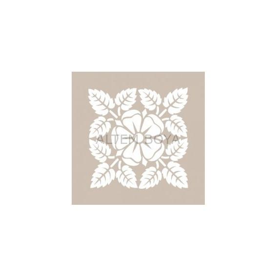 Kare Stencıl KA06 22*22 cm