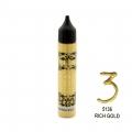 3D BONCUK BOYA-5136-RİCH GOLD