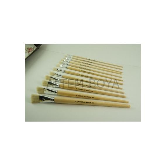 Yassı Kıl Yağlı Boya Fırçası CA258-2