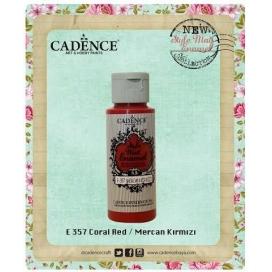Enamel Mercan Kırmızı 59 ml. E-357
