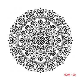HOME DECOR MİDİ STENCİL 22*22 CM HDM-109