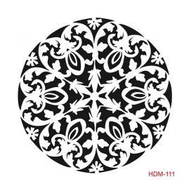 HOME DECOR MİDİ STENCİL 22*22 CM HDM-111