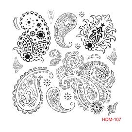 HOME DECOR MİDİ STENCİL 22*22 CM HDM-107