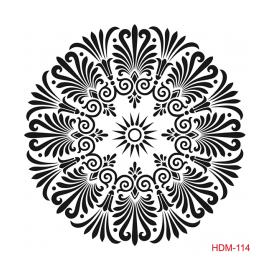 HOME DECOR MİDİ STENCİL 22*22 CM HDM-114