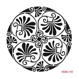 HOME DECOR MİDİ STENCİL 22*22 CM HDM-115