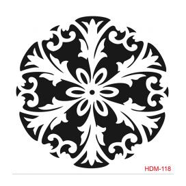HOME DECOR MİDİ STENCİL 22*22 CM HDM-118