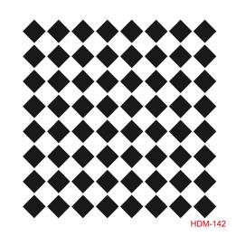 HOME DECOR MİDİ STENCİL 22*22 CM HDM-142