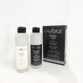 Cadence Resin Art Şeffaf Epoksi 250ML Takım