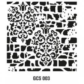 GRUNGE CTENCIL 45*45 CM GCS 003