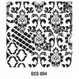 GRUNGE STENCIL 45*45 CM GCS 004