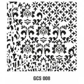 GRUNGE STENCIL 45*45 CM GCS 008