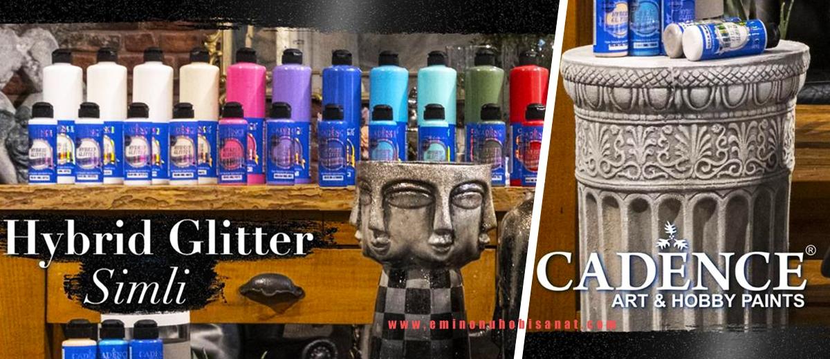 Cadence Hybrid Glitter Multisurface Simli Boyalar